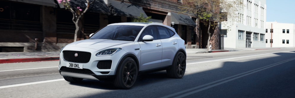 Jaguar E-Pace in the city
